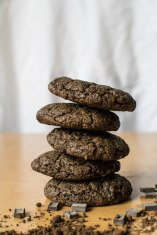 cacao hemp protein cookies