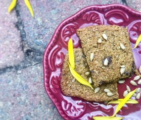 Sunflower Paleo Power Cookies